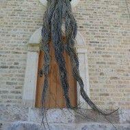 Réponse - Osier - 90 cm x 300 cm - Musée de Plein Air de Villeneuve d'Ascq Mai 2012