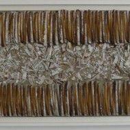 Tsunami - Technique mixte - 47 cm x 128 cm - 2012