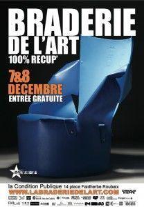 Braderie de l'art 2013 à Roubaix
