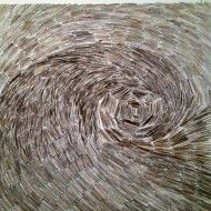 La vague - 150 x 150 cm