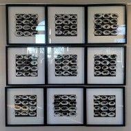Rorschah - 9 x 50x50 cm